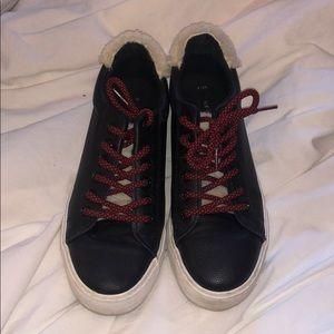 Zara Sherling sneakers